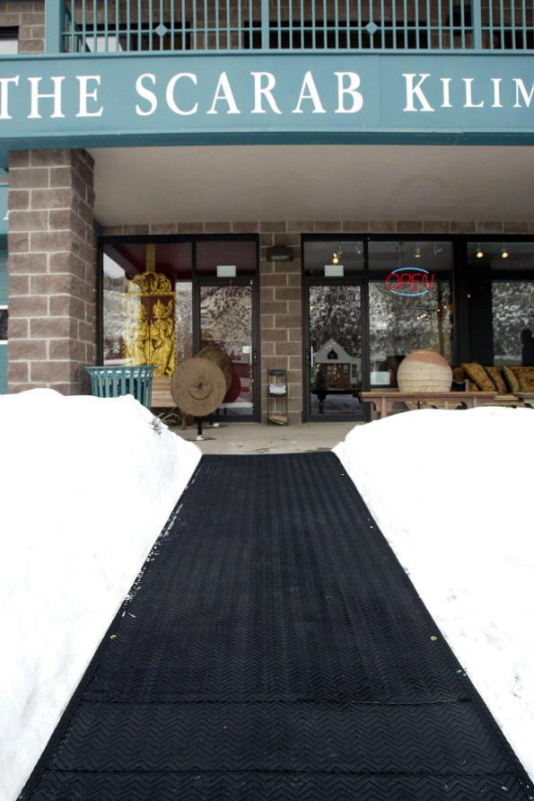 Portable Snow Melting Mats Outdoor Heated Mats Jiangyin