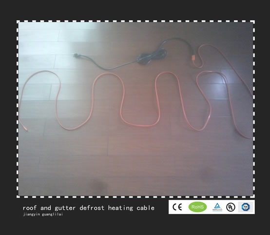 Roof And Gutter De Icing Cable Heating Cable Jiangyin
